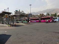 Bus terminal, Tehran