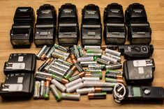 Best AA Batteries for Photography Accessories, according to JP Danko, Toronto Commercial Photographer.