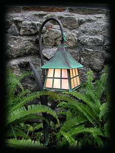 cute garden light
