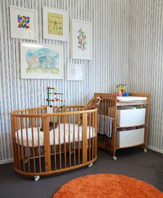 Show us your nursery - Elliot's retro modern room - http://babyology.com.au/nursery/show-us-your-nursery-elliots-retro-modern-room.html