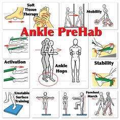 Ankle PreHab Speed and Agility both rely on the Ankles! So, if you're out playing some tennis, soccer, basketball, running or just even doing some serious weightlifting, put some love into your training program with this Ankle PreHab routine. Start with some soft tissue therapy on both the foot and the calf, if not the entire body. Next, work to improve your mobility and increase the Range of Motion of the foot and ankle with these PNF stretches and exercises. Then fire up your neuromuscular…