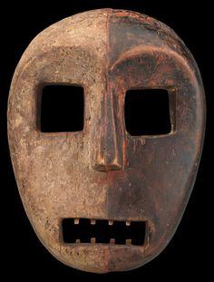 Kumu mask, Ituri, Democratic Republic of Congo