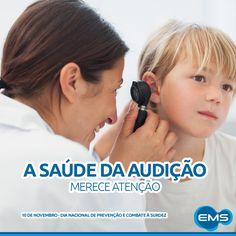 Segundo a OMS, 15 milhões de brasileiros tem problemas auditivos. O alerta é da Sociedade Brasileira de Otologia: a cada mil crianças nascidas, três a cinco nascem com algum tipo de deficiência auditiva. A surdez pode ser genética e detectada logo nos primeiros dias de vida, com o teste da orelhinha, um exame que emite sons e recolhe as respostas que o bebê produz. O cuidado é permanente, com uso correto dos aparelhos sonoros e volume moderado do som.