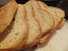 Gluten, dairy, soya and nut free flax seed bread