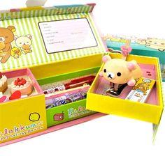 Rilakkuma Fun Times Pencil Boxes | CoolPencilCase.com