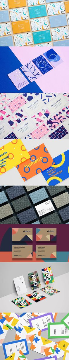 So in this post we`ve collected great examples of a designer cleverly using pattern in business card to communicate their message. Hope they will give you some ideas and inspiration for your next business card design project! Brand Identity Design, Branding Design, Business Card Design, Business Cards, Design Campaign, Calling Cards, Print Design, Layout Design, Visual Identity