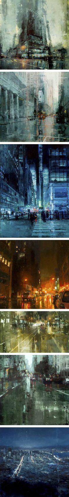 Jeremy Mann, pintor destacado por La Gran Imprenta Online