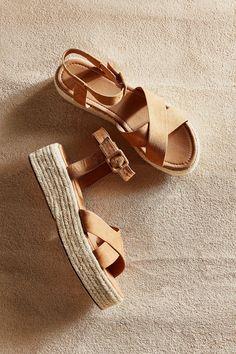 Cora Flatform Espadrille Sandal   Urban Outfitters