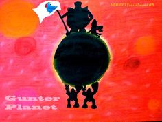 MDK OST Fanart Project #8 Gunter Planet Welcome home! Size:A4 Technic: tempera, pastel crayons Corresponding track: https://www.youtube.com/watch?v=LBjBcBULTZc