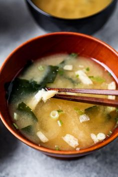 Easy Japanese Recipes, Easy Asian Recipes, Healthy Recipes, Ethnic Recipes, Japanese Food Healthy, Japanese Meals, Healthy Meals, Healthy Food, Japanese Miso Soup