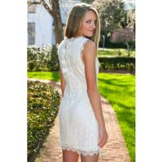 This One Time Dress-White - $40.00
