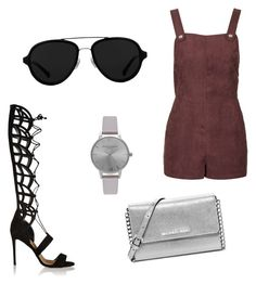 Sin título #14 by dmichellgonzalez on Polyvore featuring polyvore, fashion, style, Topshop, Paul Andrew, MICHAEL Michael Kors, Olivia Burton, 3.1 Phillip Lim and clothing