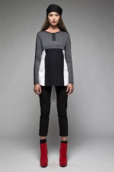 Taylor 'Follow the line' collection, Winter 2013 www.taylorboutique.co.nz Taylor Boutique - Interrupt Tunic