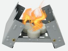 survival stove so small it fits in your pocket.... mini pocket stove