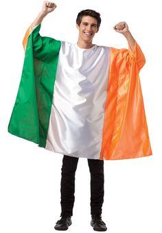 Flag Tunic Ireland - Funny Costumes at Escapade