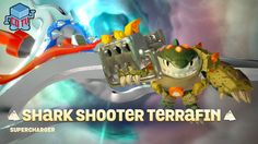 Skylanders SuperChargers Shark Shooter TERRAFIN Gameplay Preview E3 2015
