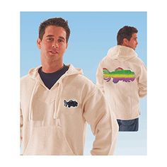 Jerry Garcia Men's Tie Dye Fish Hooded Sweatshirt White - http://bandshirts.org/product/jerry-garcia-mens-tie-dye-fish-hooded-sweatshirt-white/