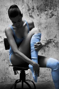 Ballerina in Blue #HelloBlue
