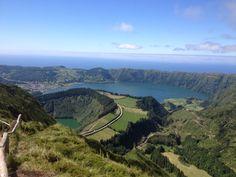 Vista da Lagoa do Canário, Sete Cidades