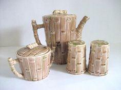 Vintage Teapot  Set by RicsRelics on Etsy,