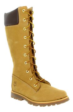 Chaussures à lacets TIMBERLAND Asphalt 83980 Velours Femme Ocre - #timberland #fashion #style
