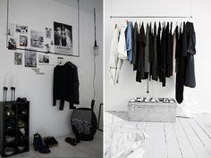 DIY CLOTHING MOOD RAIL « a pair & a spare