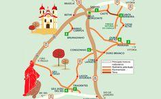 Roteiro de viagem - cidades históricas de Minas Gerais