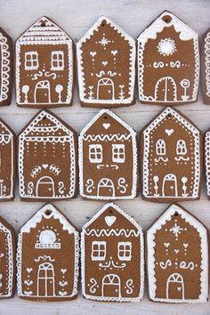 Xocolat and co: Casitas de Navidad / Gingerbread Houses