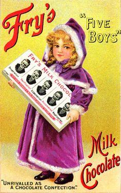 Primul baton de ciocolata a fost inventat in anul 1847 de catre Joseph Fry.