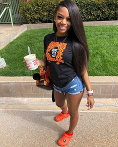 43 Best Summer Outfits Ideas for Bad Girl Style Summer Outfits Lazy Day Outfits, Summer Outfits For Teens, Chill Outfits, Swag Outfits, Trendy Outfits, Cute Outfits, Classy Outfits, Black Girl Fashion, Teen Fashion