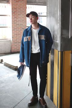 men's habito laboratorio - H O L I G A N - | Jo Geun Hyeong | Pinterest | Street, Clothes and Fashion