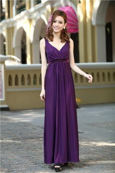 Purple Long Party Formal Evening Maxi Dress Bridesmaid Dresses Gown Plus Size Available on Luulla Prom Girl Dresses, Cheap Maxi Dresses, Maxi Bridesmaid Dresses, Maxi Dress Wedding, Backless Prom Dresses, Dress Prom, Purple Evening Gowns, Winter Formal Dresses, Dress Formal