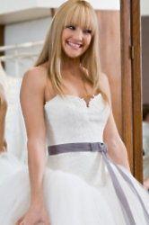 Film inspired wedding dresses: Bride Wars
