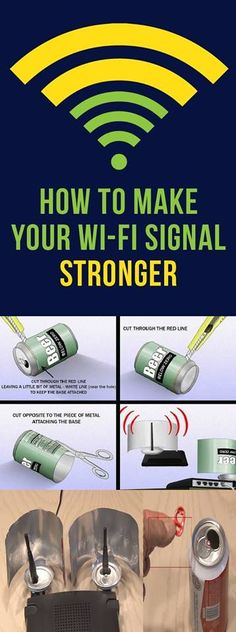 #diy #interesting #home #useful #internet #technology  #crafts #signal #boost