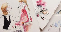 SWAROVSKI & PAPER FASHION, Katie Rodgers