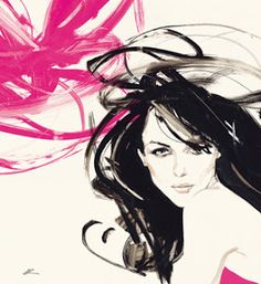 David Downton- Loca por el dibujo y la moda