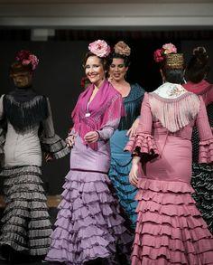 Trajes de flamenca de Rocío Olmedo