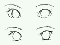step by step eye tutorial by creativecarrah Drawing