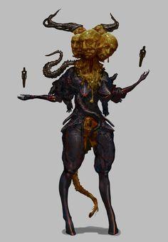 Diablo by Chenthooran Nambiarooran on ArtStation. Fantasy Monster, Monster Art, Creature Concept Art, Creature Design, Noctis, Weird Creatures, Fantasy Creatures, Fantasy Character Design, Character Art