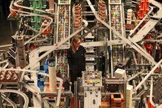 Metropolis II / Chris Burden's huge, chaotic city sculpture / LACMA