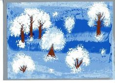Winter Art Projects, Winter Crafts For Kids, School Art Projects, Winter Kids, Diy For Kids, Christmas Decorations For Kids, Christmas Crafts, Snowflakes Art, Playing Cards Art