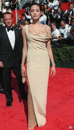 angelina jolie dress 2000 | Анджелина Джоли на красной дорожке