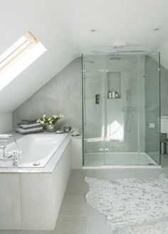 Cow barn conversion - contemporary - Bathroom - South East - Louise Hall Interiors. home decor and interior decorating ideas.