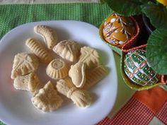 Ochutnávky od Jarky - Moučníky - Řezy a cukroví - Žloutkové cukroví do formiček, tzv.rakvičkové