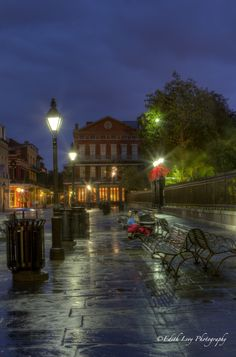 Jackson Square, New Orleans at Dawn