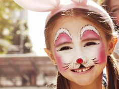 bunny art face painting pretty makeup fantasy maquillaje