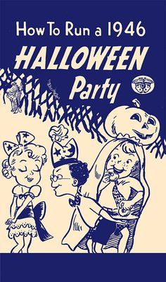 How to Run a 1946 Halloween Party by halloween_guy, via Flickr