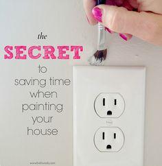 Great painting tips & tricks! Save money diy