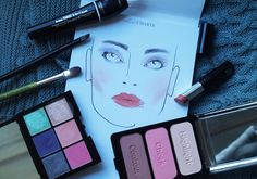 The Black Pearl Blog - UK beauty, fashion and lifestyle blog: Karla Powell Face Charts