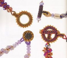 Beaded Clasps - (Translate) #Seed #Bead #Tutorials